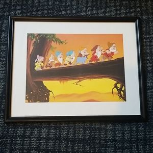 Disney 7 Dwarfs 11 x 14 Picture
